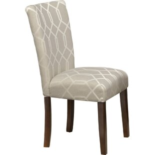 Reviews Feldman Upholstered Parsons Chair (Set of 2) By Longshore Tides