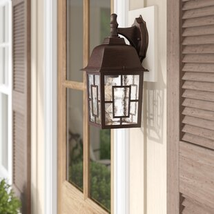 Inexpensive Timmons 1-Light Outdoor Wall Lantern By Charlton Home