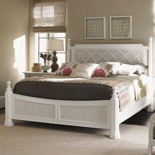 Tommy Bahama Home Ivory Key Canopy Bed