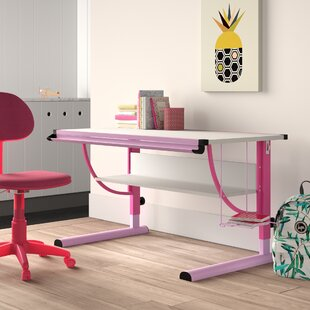 Carina 118 W Art Desk By Symple Stuff