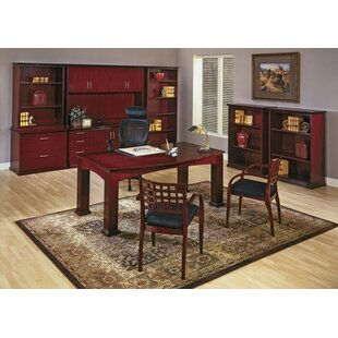 OSP Furniture Mendocino Standard 7-Piece Desk Office Suite