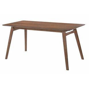Ahner Rectangular Dining Table by Langley Street No Copoun