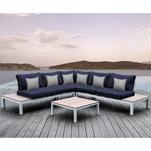 Pulito 4 Piece Sectional Set with Cushions