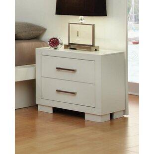 Ebern Designs Hammes 2 Drawer Nightstand