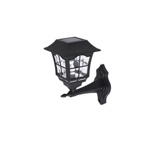 Oberon Outdoor LED Outdoor Wall Lantern (Set Of 4) By Living District