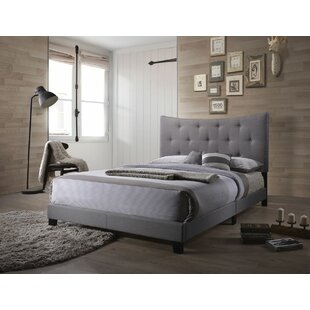 Swanner Queen Upholstered Panel Bed by Wrought Studio