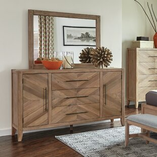 3 Drawer Combo dresser with Mirror