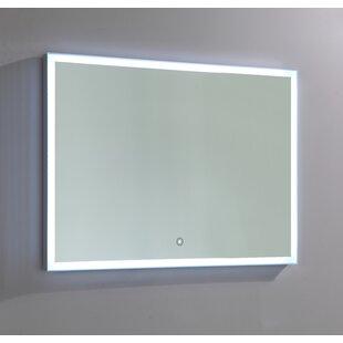 Reviews Lighted Bathroom/Vanity Mirror ByVanity Art