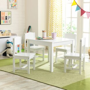 Farmer Children's 5 Piece Play Table And Chair Set By Harriet Bee
