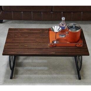 Arana Wood Coffee Table by Williston Forge