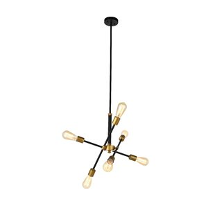 Wrought Studio Mullet 6-Light Sputnik Chandelier