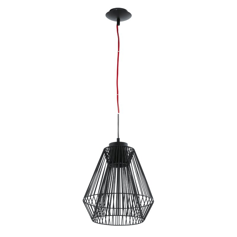 Emma Wire Cage 1 Light Pendant