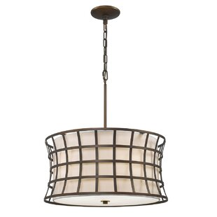 Gracie Oaks Anna 5-Light Drum Chandelier