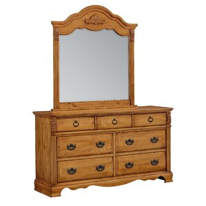 Rivera 7 Drawer Dresser with Mirror by August Grove