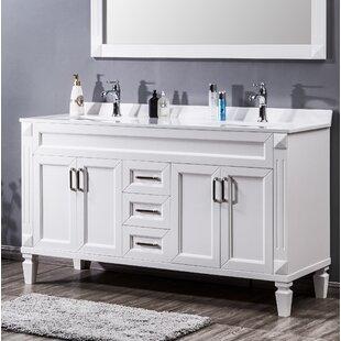 Needville 60 Double Bathroom Vanity Set By Charlton Home
