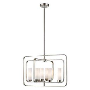 Mercury Row Maziarz 8-Light Geometric Chandelier