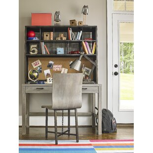 Aitkin Writing Desk with Hutch and Chair Set by Mistana