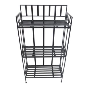 Red Barrel Studio Seawell 3 Tier Shelf Iron Baker's Rack (Set of 2)