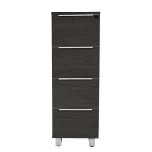 Ose 4-Drawer Vertical Filing Cabinet by Comm Office