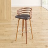 Hornsea Bar & Counter Swivel Stool by Wade Logan®