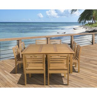 Beachcrest Home Flinn 9 Piece ..