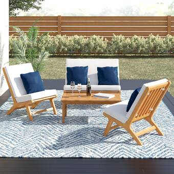 Summerlyn 4 Piece Sectional Seating Group Reviews Allmodern