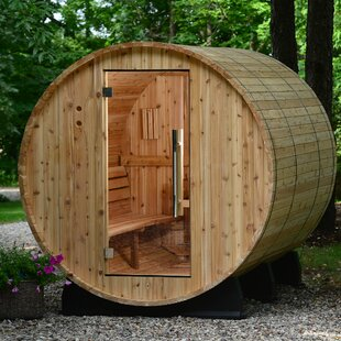 Princeton Cedar 6 Person Traditional Steam Sauna By Almost Heaven Saunas LLC
