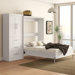 Buy luxury Entiat Murphy Bed by Wrought Studio Reviews (2019) & Buyer's Guide
