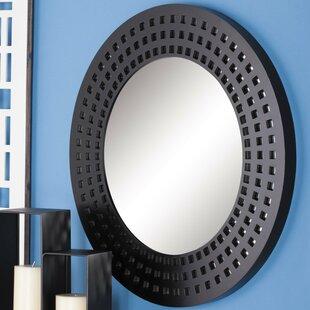 Buy luxury Wood Round Wall Mirror ByCole & Grey