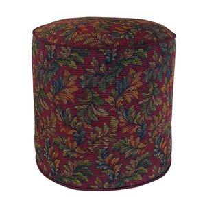 Alistar Tapestry Pouf Ottoman by R&MIndustries