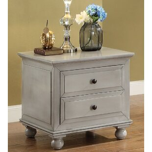 Zoana End Table with Storage by Andrew Home Studio