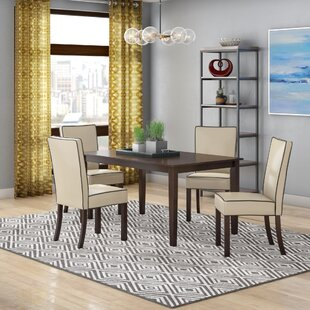 Latitude Run Coraima 5 Piece Dining Set