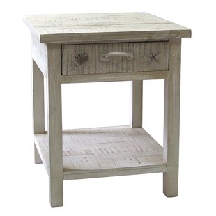 Crestview Collection Seaside Coastal End Table
