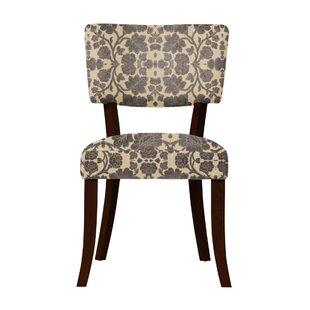 Petra Beige/Gray Upholstered Side Chair (Set of 2) by Darby Home Co