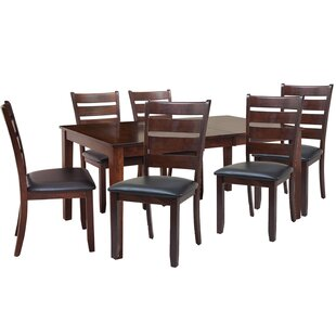 TTP Furnish Boswell 7 Piece Dining Set