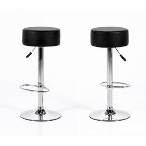 Bruder Adjustable Height Bar Stool (Set of 2) by Orren Ellis