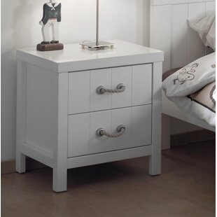 Lewis 2 Drawer Bedside Table by Vipack