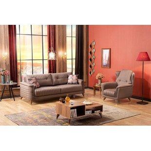 Honn 4 Piece Standard Living Room Set by Rosdorf Park