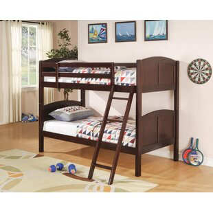 Barneveld Bunk Bed with Euro Glides by Harriet Bee