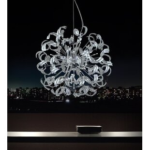 Wrought Studio Fritz 18-Light Sputnik Chandelier