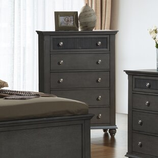 Daniel 5 Drawer Chest by Charlton Home