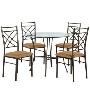 Zaria 5 Piece Dining Set by Winston Porter