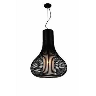 Brayden Studio Vivien 1-Light Lantern Pendant