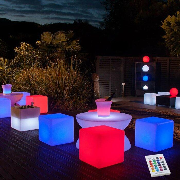 Lamarck Cube Battery Ed Led Floor Lamp