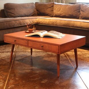 Langley Street Grant Modern Coffee Table with Storage