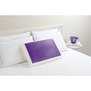 Comfort Revolution Bubble Bed Memory Foam Standard Pillow