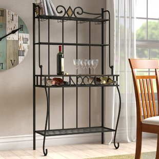 McArthur Étagère Steel Baker's Rack by Red Barrel Studio