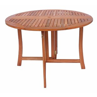 Eucalyptus Folding Wooden Bistro Table