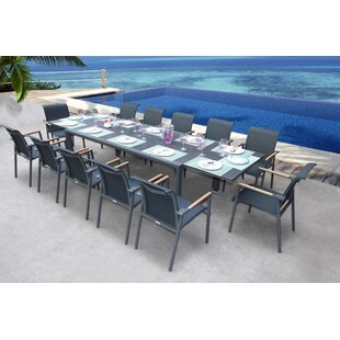 Chretien 13 Piece Dining Set