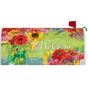 Makeover Watercolor Wildflowers Mailbox Cover By Custom Decor